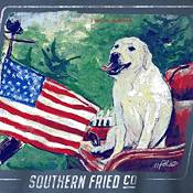 Southern Fried Cotton Men's Waggin Flag T-Shirt product image