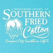 Southern Fried Cotton Girls' Gingham Sand Dollar Short Sleeve T-Shirt product image
