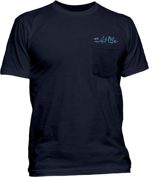 2bb223b69 Salt Life Men's Etched Marlin Short Sleeve T-Shirt | DICK'S Sporting ...