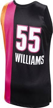 Mitchell & Ness Men's Miami Heat Jason Williams #55 Black Jersey product image