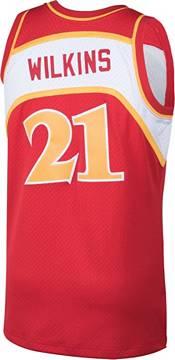 Mitchell & Ness Men's Atlanta Hawks Dominique Wilkins #21 Swingman Jersey product image