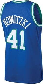 Mitchell & Ness Men's Dallas Mavericks Dirk Nowitzki #41 Swingman Jersey product image