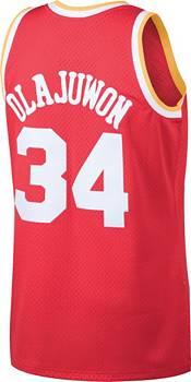 Mitchell & Ness Men's Houston Rockets Hakeem Olajuwon #34 Swingman Jersey product image