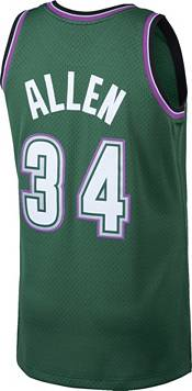 Mitchell & Ness Men's Milwaukee Bucks Ray Allen #34 Swingman Jersey product image