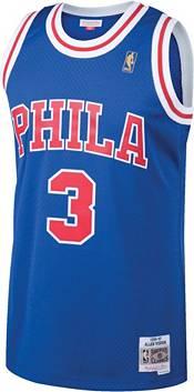 Mitchell & Ness Men's Philadelphia 76ers Allen Iverson #3 Swingman Jersey product image