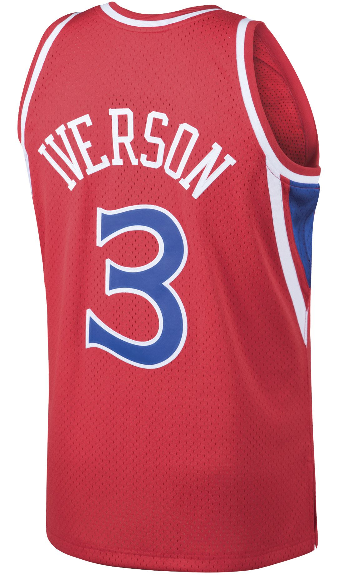 ce0c0906 ... Philadelphia 76ers Allen Iverson #3 Swingman Jersey. noImageFound.  Previous. 1. 2. 3