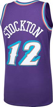 Mitchell & Ness Men's Utah Jazz John Stockton #12 Swingman Jersey product image