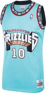 Mitchell & Ness Men's Memphis Grizzlies Mike Bibby #10 Swingman Blue Jersey product image