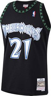 Mitchell & Ness Men's Minnesota Timberwolves Kevin Garnett #21 Swingman Jersey product image