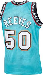 Mitchell & Ness Men's Memphis Grizzlies Bryant Reeves #50 Swingman Blue Jersey product image