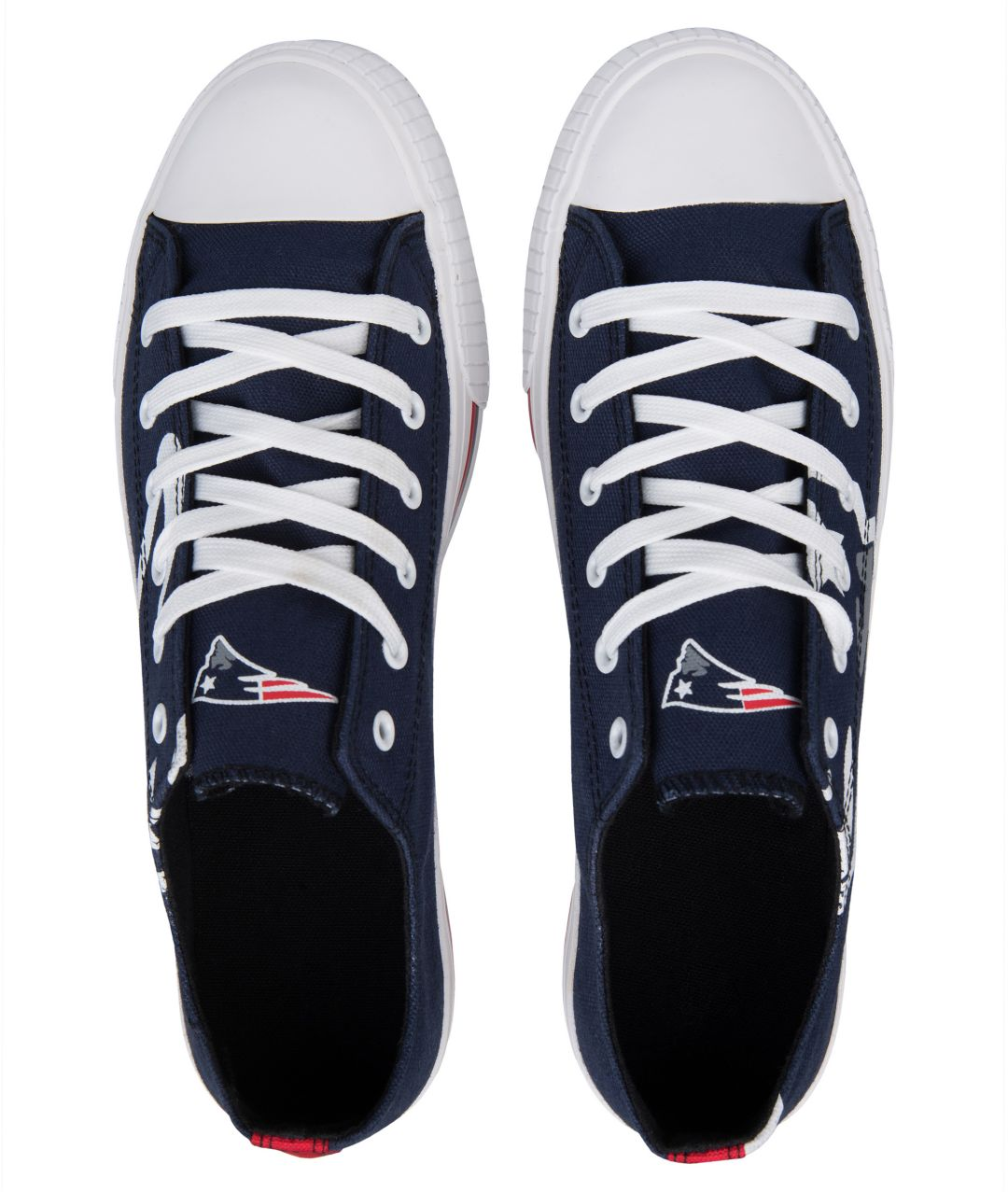 02b3c627 FOCO New England Patriots Canvas Sneakers