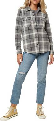 O'Neill Women's Zuma Button Down Flannel Top product image