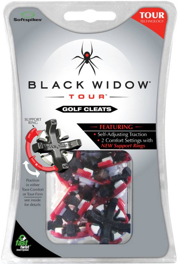 Softspikes Black Widow Tour Fast Twist Golf Spikes - 16 Pack product image