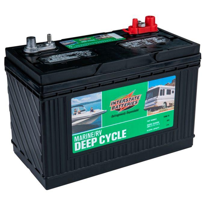Interstate Batteries Srm 31 Marine Rv Deep Cycle Battery