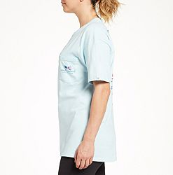 98454da9 Simply Southern Women's Short Sleeve Stripes USA T-Shirt alternate 2