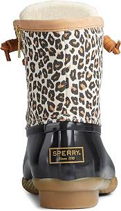 Sperry Women's Saltwater Animal Print Duck Boots product image