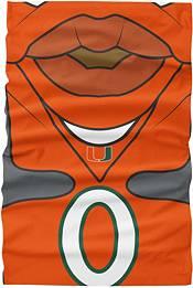 FOCO Youth Miami Hurricanes Mascot Neck Gaiter product image