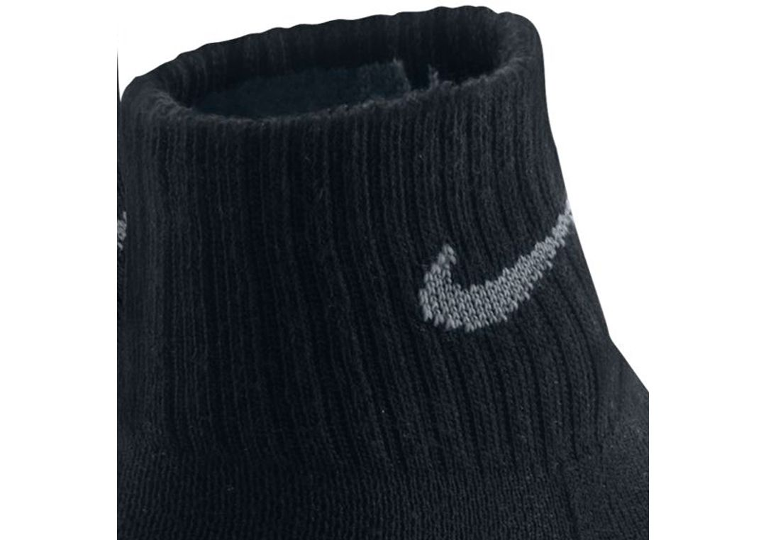 5b08bc13e3915 Nike Dri-FIT Cushion Quarter Socks 3 Pack