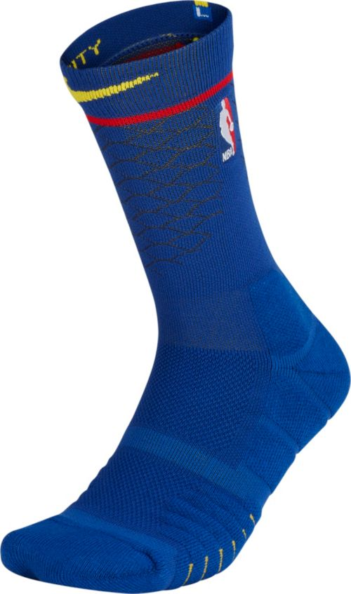 83391d9cf8eb Nike Golden State Warriors City Edition Elite Quick NBA Crew Socks ...