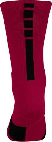 Nike NBA League Burgundy Elite Crew Socks product image