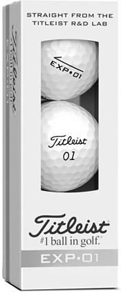 Titleist EXP-01 Golf Balls product image