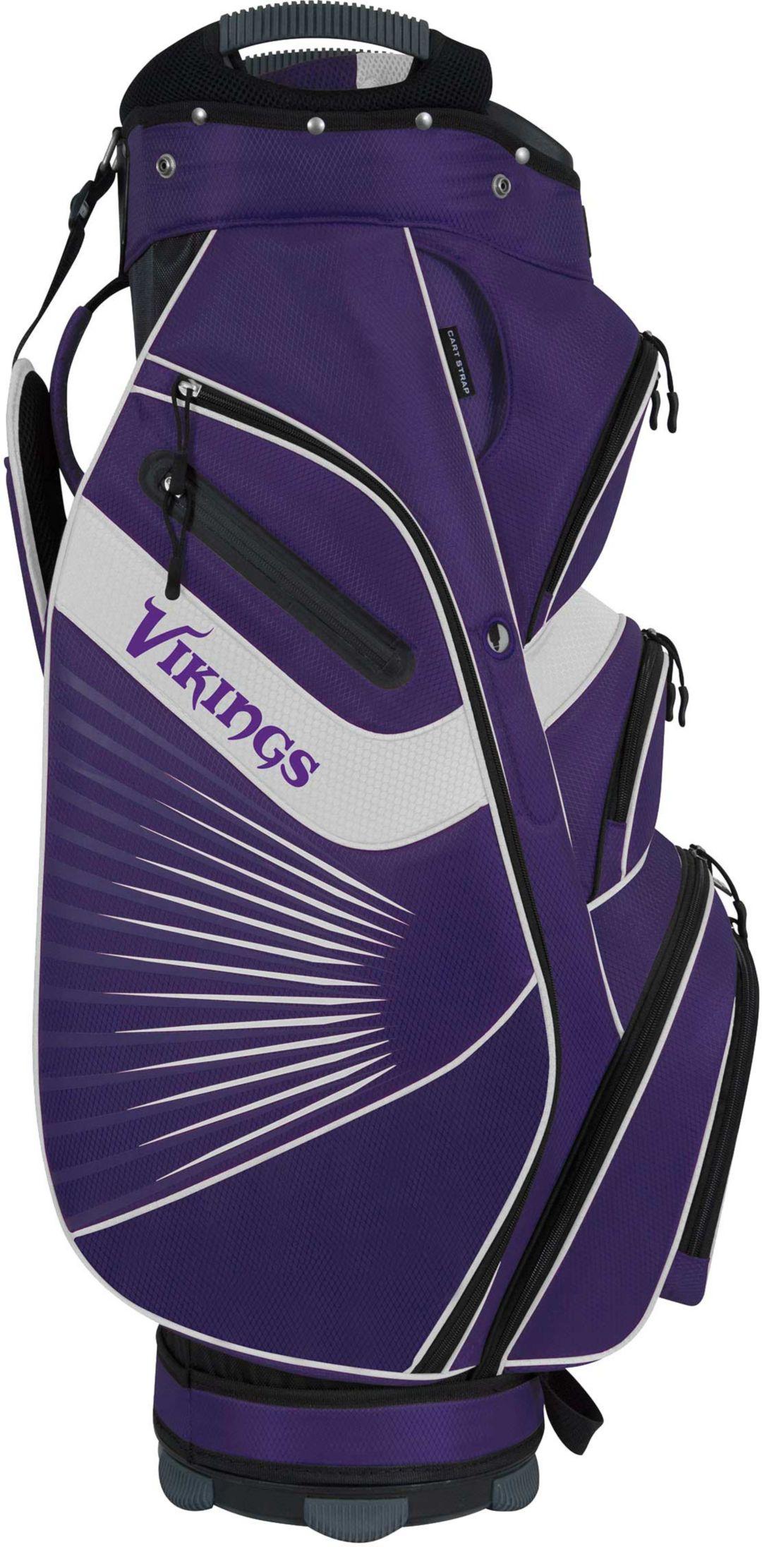 00ceb36e Team Effort Minnesota Vikings Bucket II Cooler Cart Golf Bag