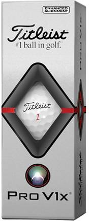Titleist 2019 Pro V1x Enhanced Alignment Golf Balls product image
