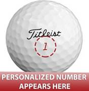Titleist 2021 Pro V1x Same Number Personalized Golf Balls product image