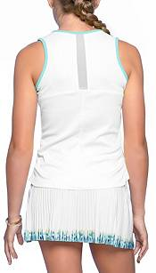 Lucky In Love Girls' Lightweight Rib Tennis Tank Top product image