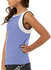 Lucky in Love Girls' Party Animal Tennis Tank Top product image