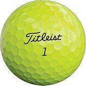 Titleist 2020 Tour Soft Yellow Same Number Personalized Golf Balls product image