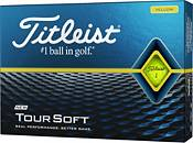 Titleist 2020 Tour Soft Yellow Personalized Golf Balls product image
