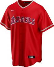 Nike Men's Replica Los Angeles Angels Shohei Ohtani #17 Red Cool Base Jersey product image