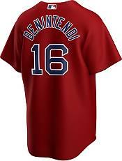 Nike Men's Replica Boston Red Sox Andrew Benintendi #16 Red Cool Base Jersey product image
