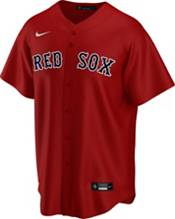 Nike Men's Replica Boston Red Sox Mookie Betts #50 Red Cool Base Jersey product image