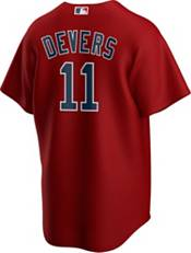 Nike Men's Replica Boston Red Sox Rafael Devers #11 Cool Base Red Jersey product image