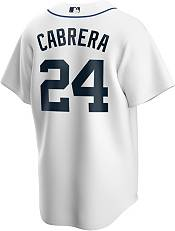 Nike Men's Detroit Tigers Miguel Cabrera #24 White Cool Base Jersey product image