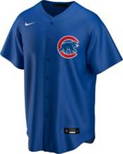 Nike Men's Replica Chicago Cubs Kris Bryant #17 Royal Cool Base Jersey product image