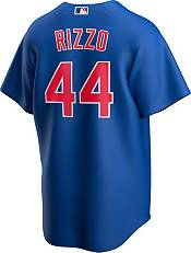 Nike Men's Replica Chicago Cubs Anthony Rizzo #44 Royal Cool Base Jersey product image