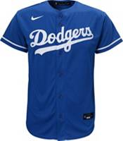 Nike Men's Replica Los Angeles Dodgers Mookie Betts #50 Cool Base Blue Jersey product image