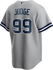 Nike Men's Replica New York Yankees Aaron Judge #99 Grey Cool Base Jersey product image