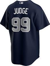 Nike Men's Replica New York Yankees Aaron Judge #99 Navy Cool Base Jersey product image