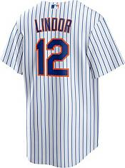 Nike Men's New York Mets Francisco Lindor #12 Cool Base Replica Jersey product image