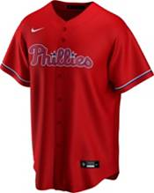 Nike Men's Replica Philadelphia Phillies Rhys Hoskins #17 Red Cool Base Jersey product image