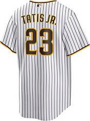 Nike Men's Replica San Diego Padres Fernando Tatis Jr. #23 Cool Base White Jersey product image