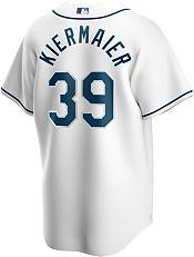 Nike Men's Replica Tampa Bay Rays Kevin Kiermaier #39 White Cool Base Jersey product image