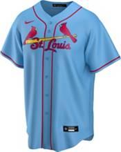 Nike Men's Replica St. Louis Cardinals Matt Carpenter #13 Blue Cool Base Jersey product image