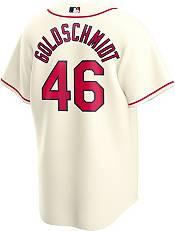 Nike Men's Replica St. Louis Cardinals Paul Goldschmidt #46 Cream Cool Base Jersey product image