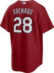 Nike Men's St. Louis Cardinals Nolan Arenado #28 Red Replica Cool Base Jersey product image