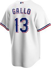 Nike Men's Replica Texas Rangers Joey Gallo #13 Cool Base White Jersey product image